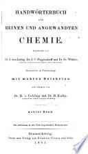 Handw  rterbuch Der Reinen und Angewandten Chemie