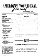 American Vocational Journal