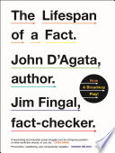 The Lifespan of a Fact Book