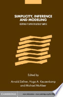Simplicity  Inference and Modelling