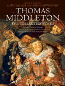 Pdf Thomas Middleton: The Collected Works Telecharger