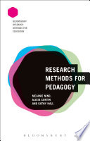 Research Methods For Pedagogy Book