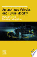 Autonomous Vehicles And Future Mobility Book PDF