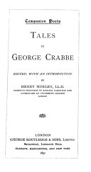 Pdf Tales by George Crabbe
