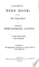 Coates S Herd Book