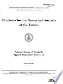 Problems for the Numerical Analysis of the Future Book PDF