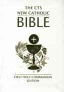 New Catholic Bible (first Holy Communion).