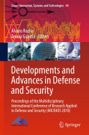 Pdf Developments and Advances in Defense and Security Telecharger