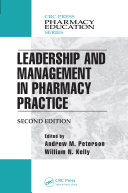 Leadership and Management in Pharmacy Practice [Pdf/ePub] eBook