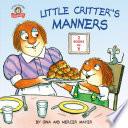 Little Critter s Manners