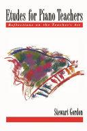 Etudes for Piano Teachers [Pdf/ePub] eBook