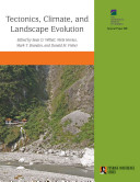 Tectonics, Climate, and Landscape Evolution