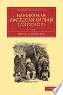 Handbook Of American Indian Languages