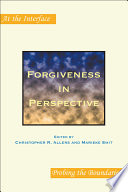 Forgiveness In Perspective
