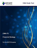 CIMA F3 Financial Strategy Study Text