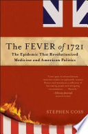 The Fever of 1721 Book