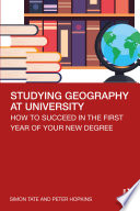 Studying Geography at University