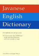 Pdf Javanese English Dictionary
