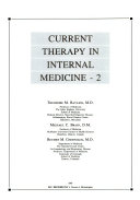 Current Therapy in Internal Medicine   2 Book
