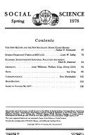 International Social Science Review