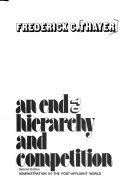 An End to Hierarchy and Competition Book