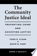 The Community Justice Ideal