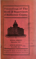 Proceedings of the Board of Supervisors of Manitowoc County