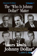 """The """"Who Is Johnny Dollar?"""" Matter, Volume 1 Book Online"""