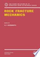 Rock Fracture Mechanics Book