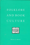 Folklore and Book Culture