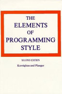 The Elements of Programming Style