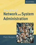 Principles of Network and System Administration Book