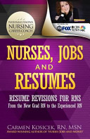Nurses, Jobs and Resumes