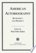 American Autobiography Book PDF