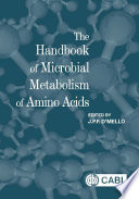 The Handbook Of Microbial Metabolism Of Amino Acids Book PDF