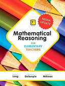 Mathematical Reasoning for Elementary Teachers Plus Mylab Math Media Update    Access Card Package Book