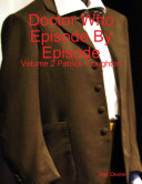 Doctor Who Episode By Episode: Volume 2 Patrick Troughton
