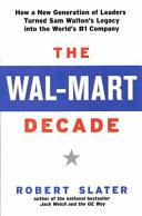 The Wal Mart Decade Book
