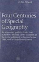 Four Centuries of Special Geography