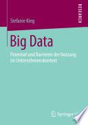Big Data  : Potential und Barrieren der Nutzung im Unternehmenskontext