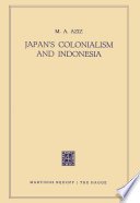 Japan S Colonialism And Indonesia