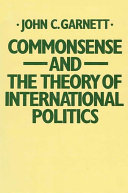 Commonsense and the Theory of International Politics Pdf/ePub eBook
