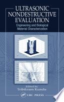 Ultrasonic Nondestructive Evaluation Book