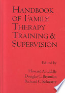 Handbook of Family Therapy Training and Supervision Book