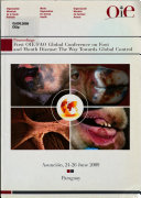 Proceedings Of The First Oie Fao Global Conference On Foot And Mouth Disease