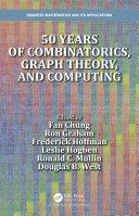 50 years of Combinatorics  Graph Theory  and Computing