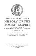 History of the Roman Empire Book PDF