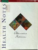 Alternative Medicines Book