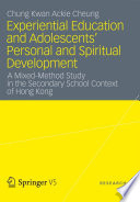 Experiential Education And Adolescents Personal And Spiritual Development