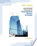 Experiential Exercises in Organization Theory & Design